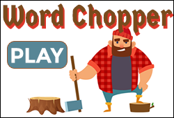 Word Chopper Spelling List Whittling Game
